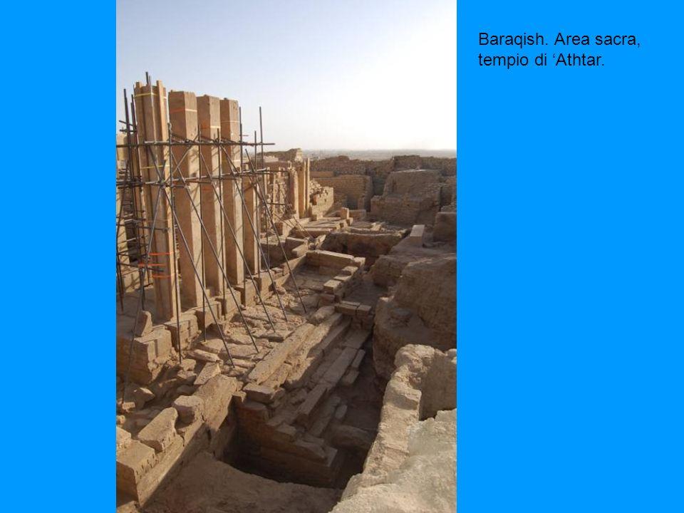 Baraqish. Area sacra, tempio di 'Athtar.
