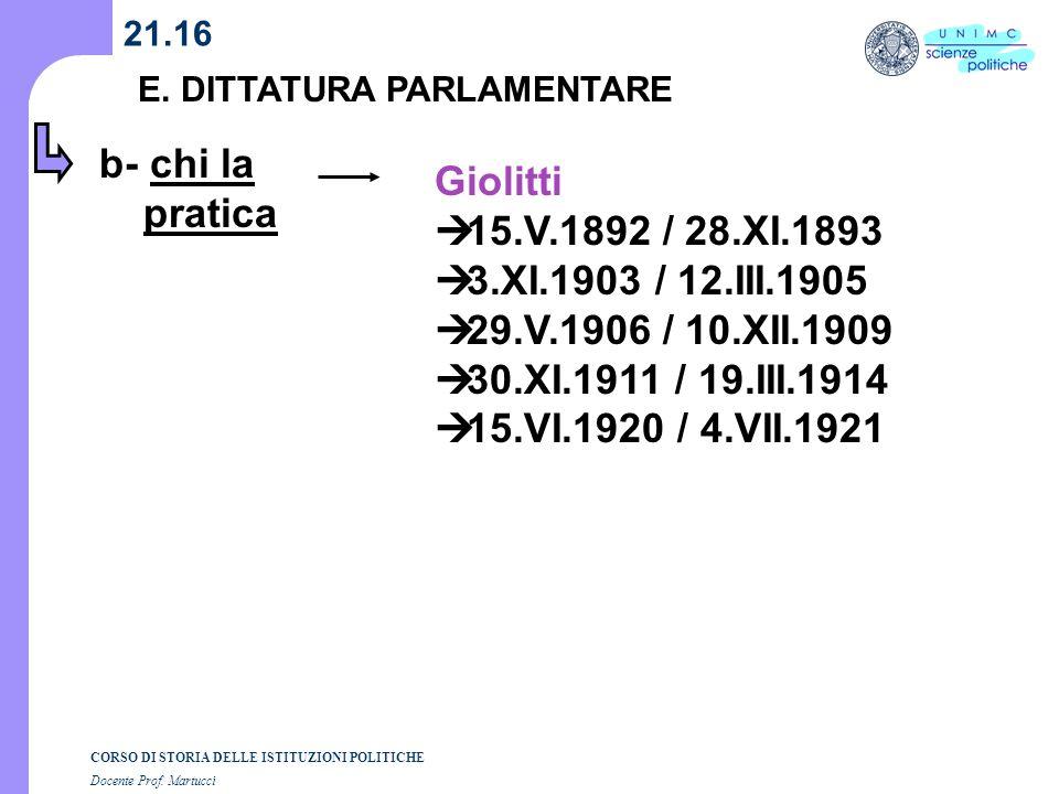 b- chi la pratica Giolitti 15.V.1892 / 28.XI.1893
