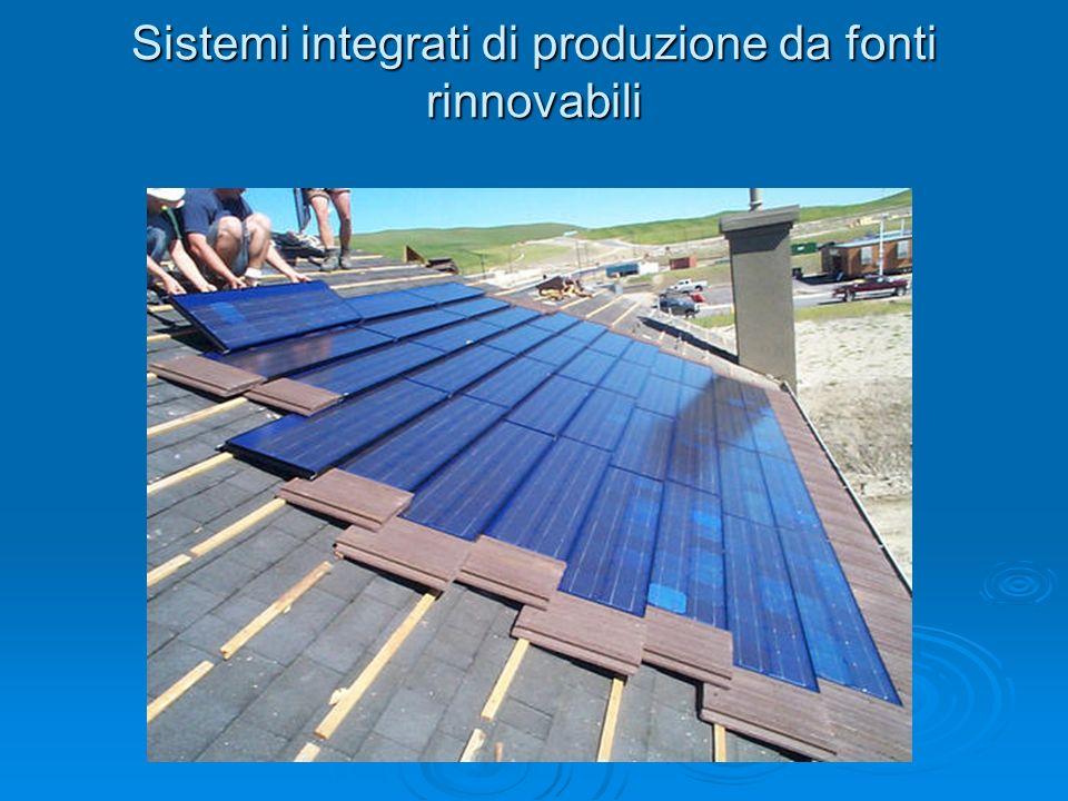 Sistemi integrati di produzione da fonti rinnovabili