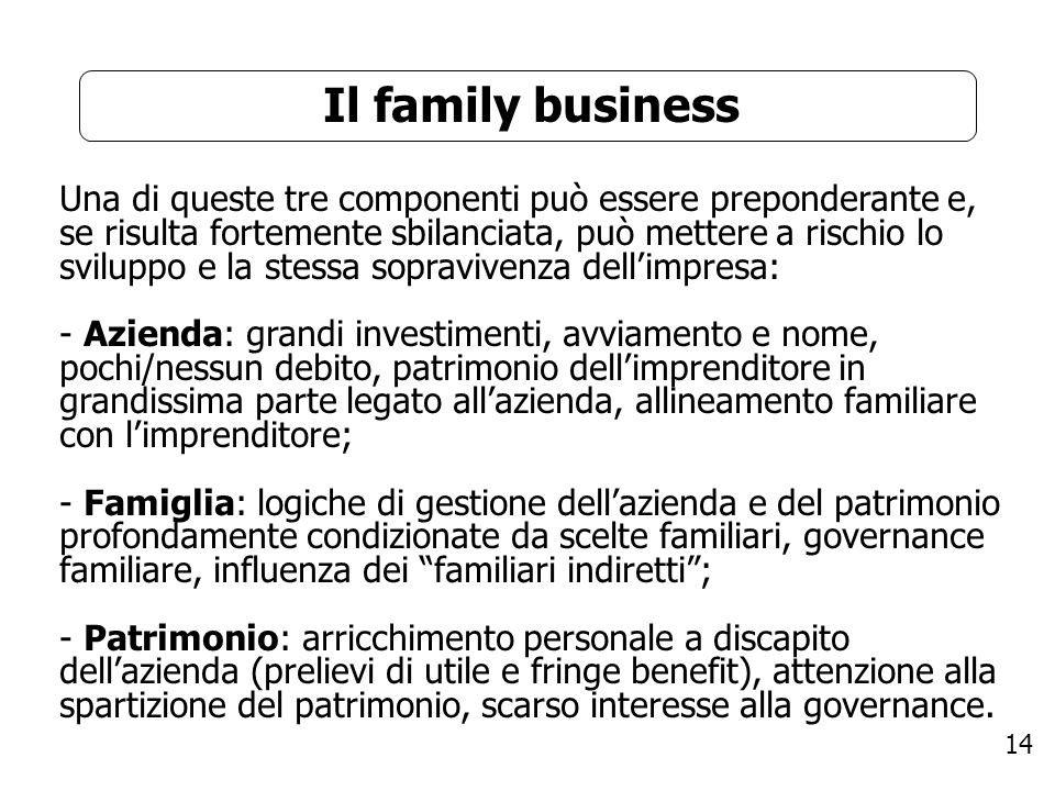 Il family business