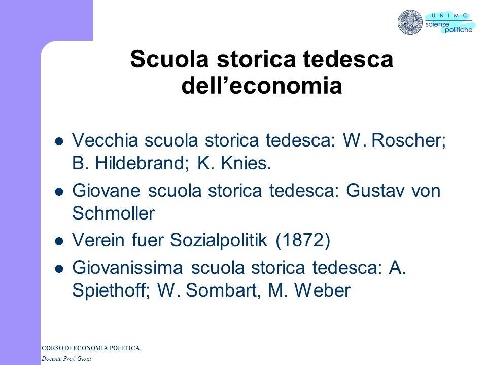 Scuola storica tedesca dell'economia