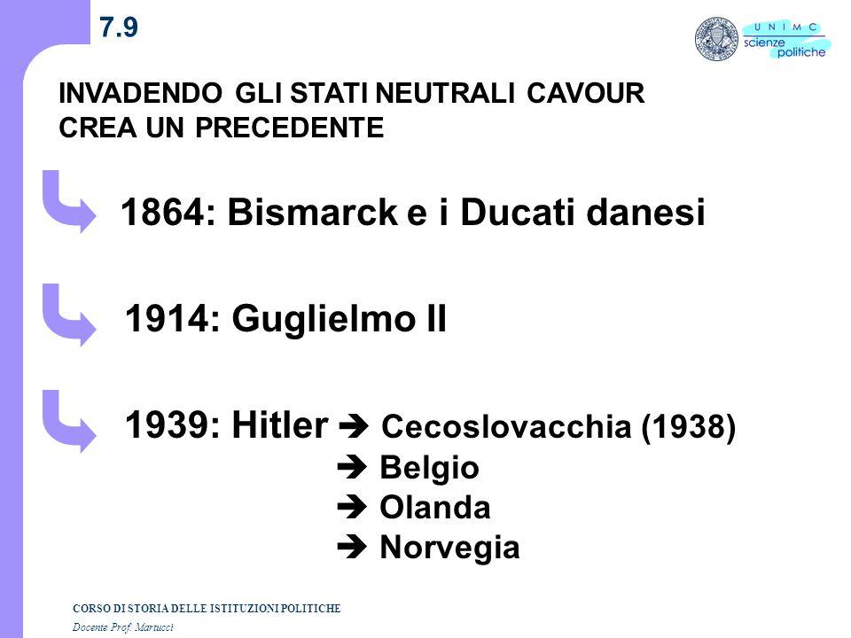 1864: Bismarck e i Ducati danesi