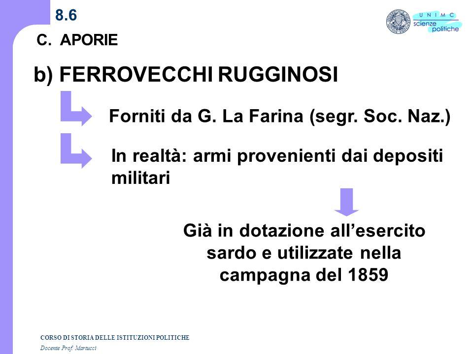 b) FERROVECCHI RUGGINOSI