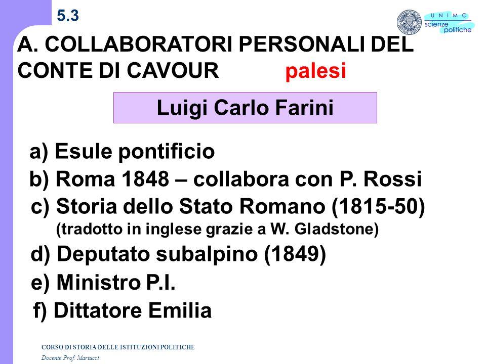 palesi Luigi Carlo Farini