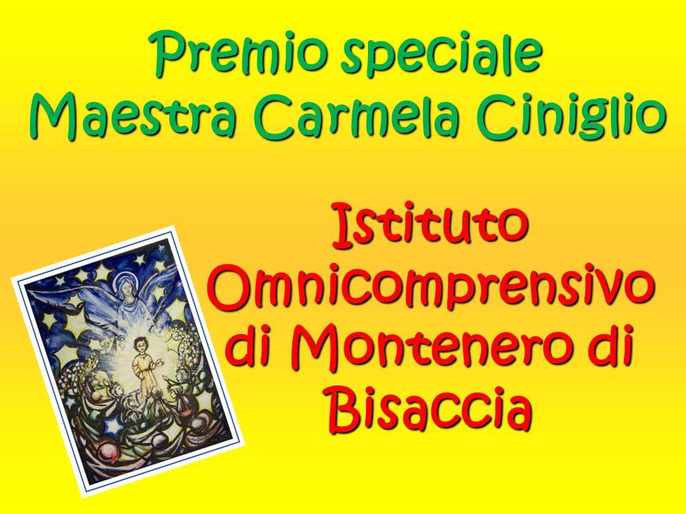 Premio speciale Maestra Carmela Ciniglio
