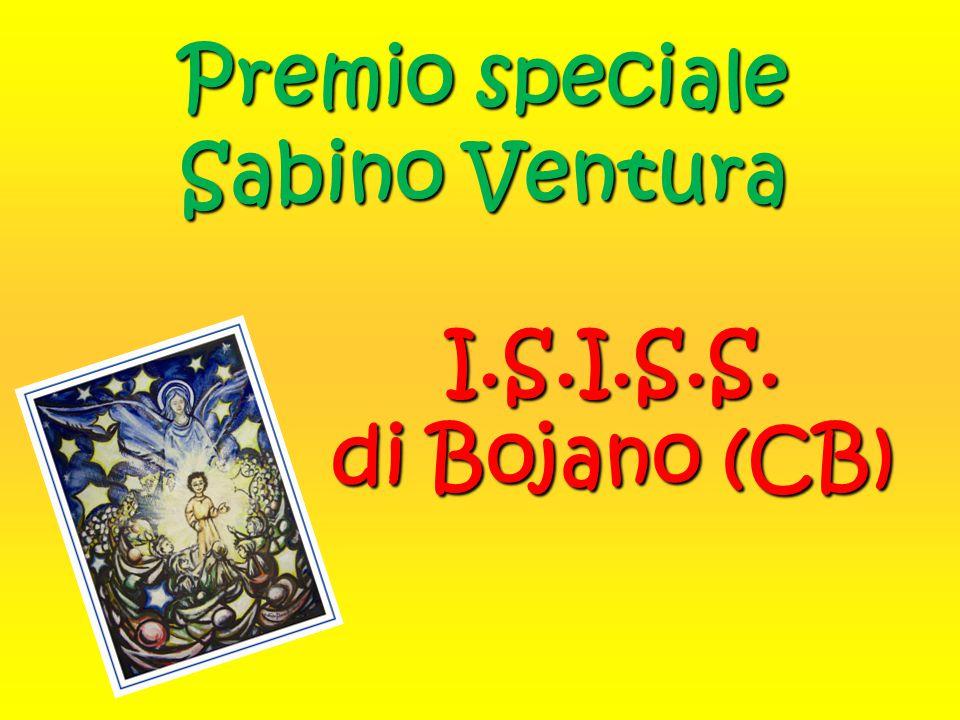 Premio speciale Sabino Ventura