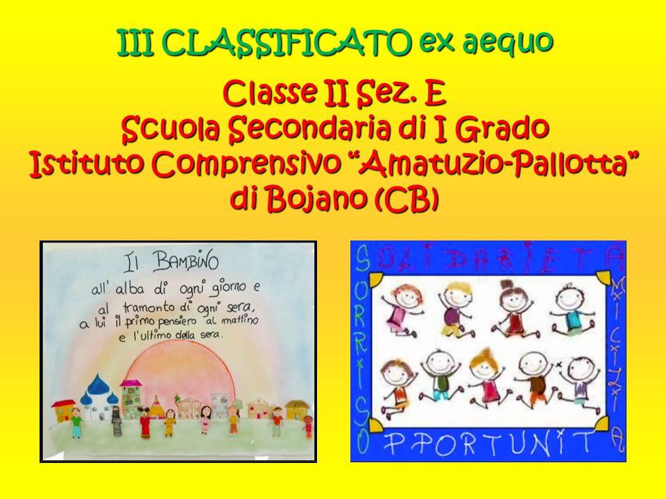 III CLASSIFICATO ex aequo Classe II Sez