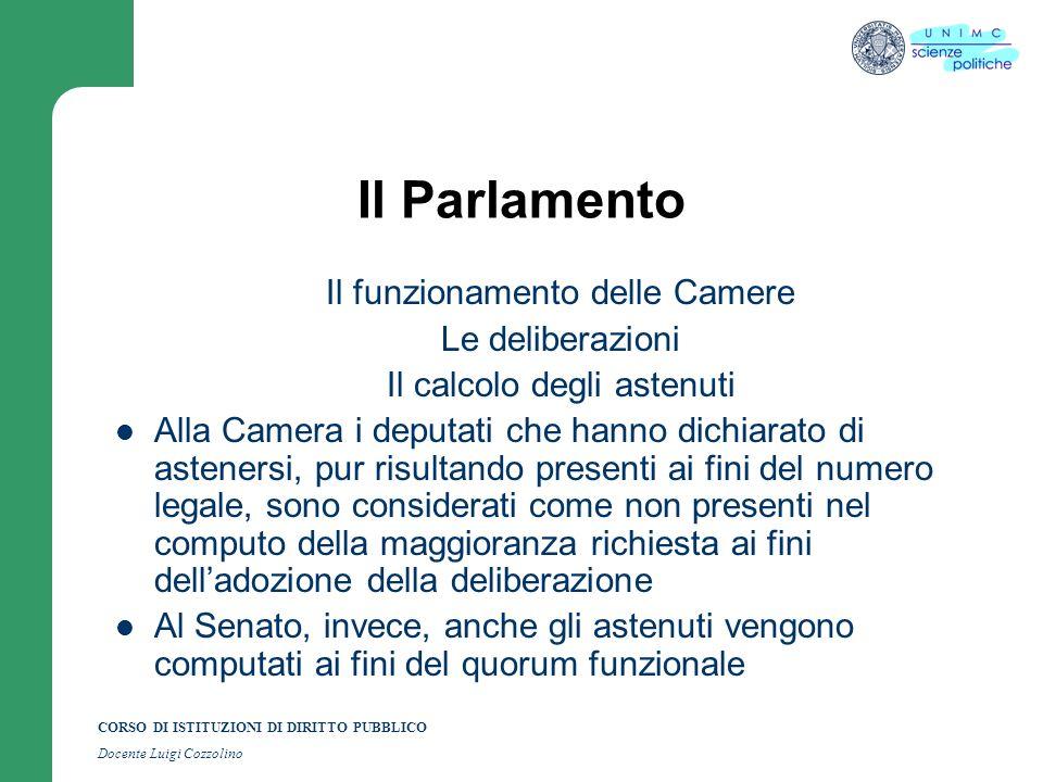 Argomento n 4 la forma di governo della repubblica for Numero deputati alla camera