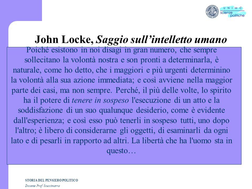John Locke, Saggio sull'intelletto umano