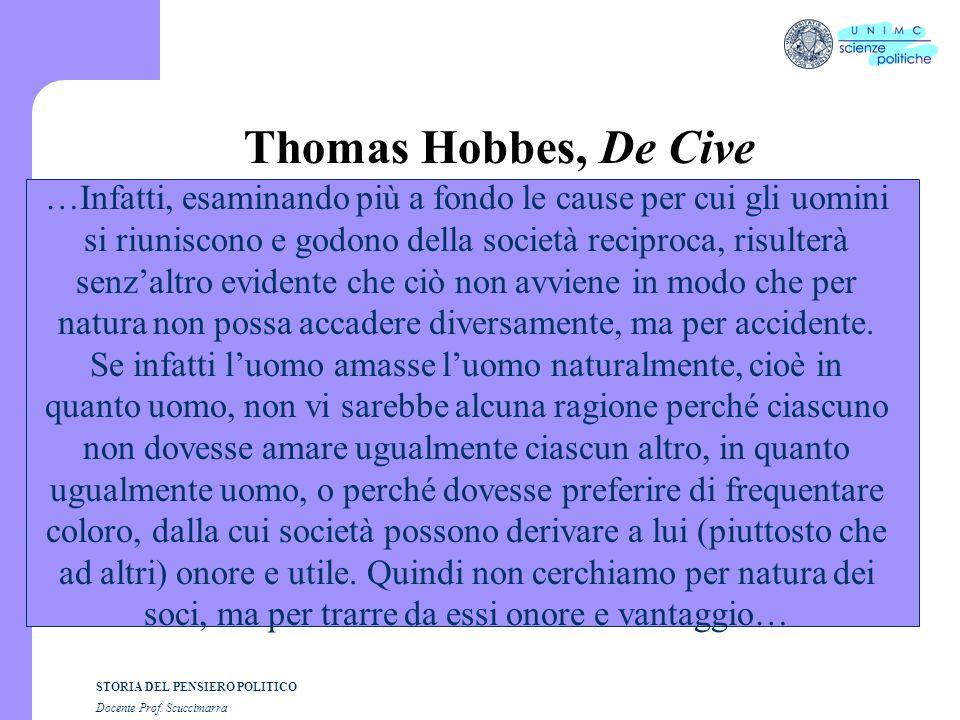 Thomas Hobbes, De Cive