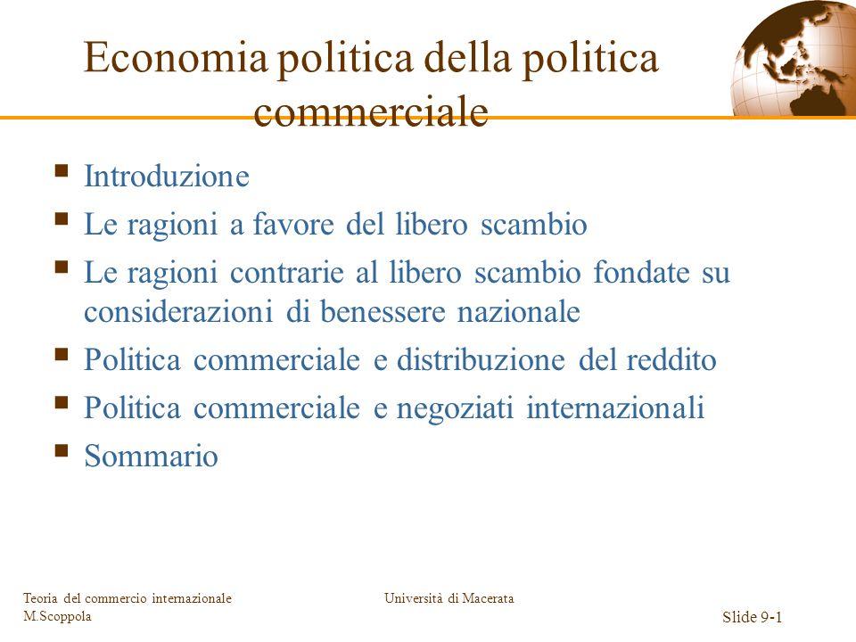 Economia politica della politica commerciale