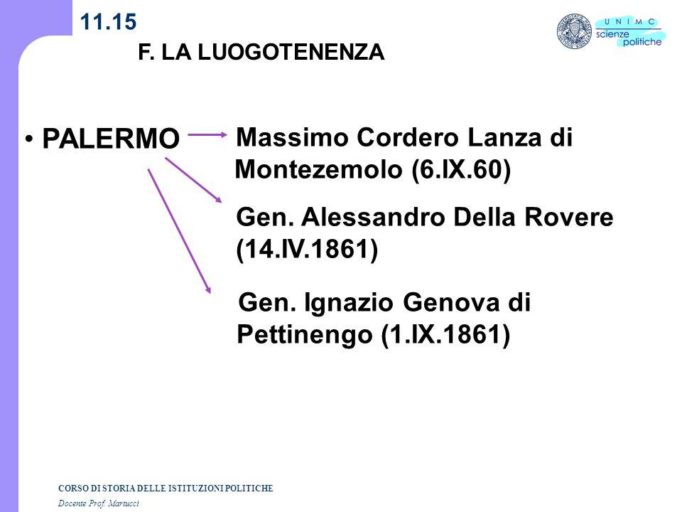 PALERMO Massimo Cordero Lanza di Montezemolo (6.IX.60)