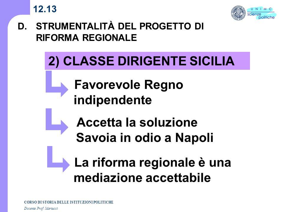2) CLASSE DIRIGENTE SICILIA