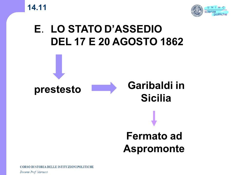 Garibaldi in Sicilia Fermato ad Aspromonte