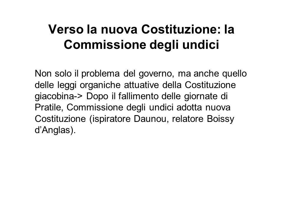 Verso la nuova Costituzione: la Commissione degli undici