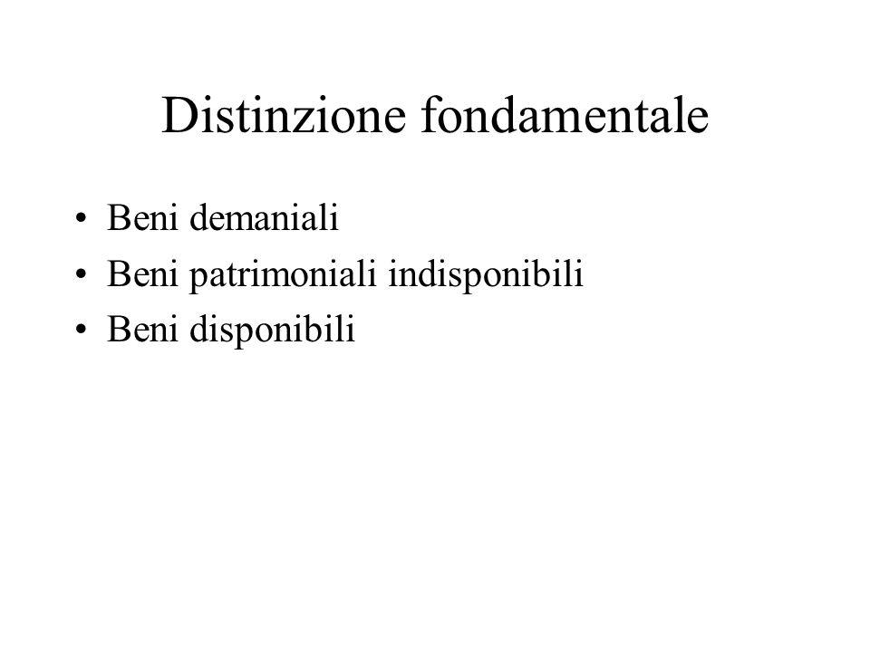 Distinzione fondamentale