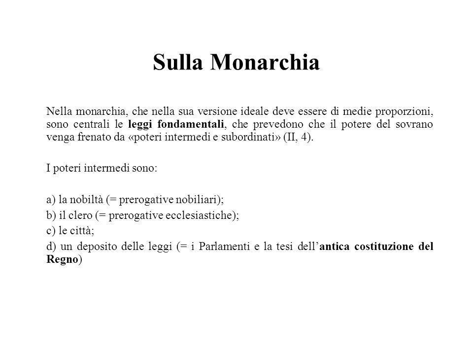 Sulla Monarchia