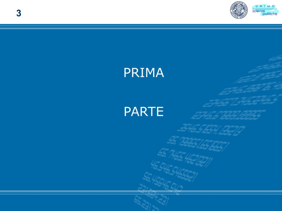 3 PRIMA PARTE 2002 - Facoltà di Scienze Politiche