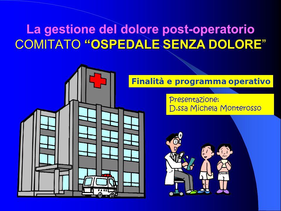 Finalità e programma operativo