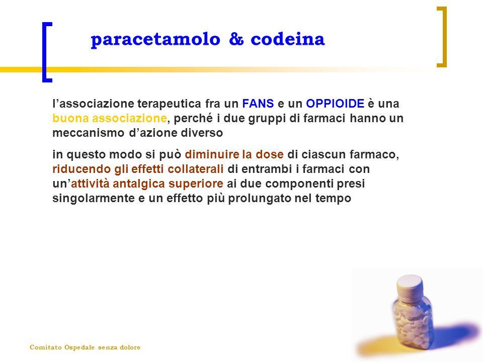 paracetamolo & codeina