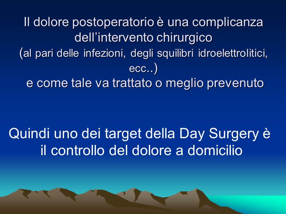 Quindi uno dei target della Day Surgery è