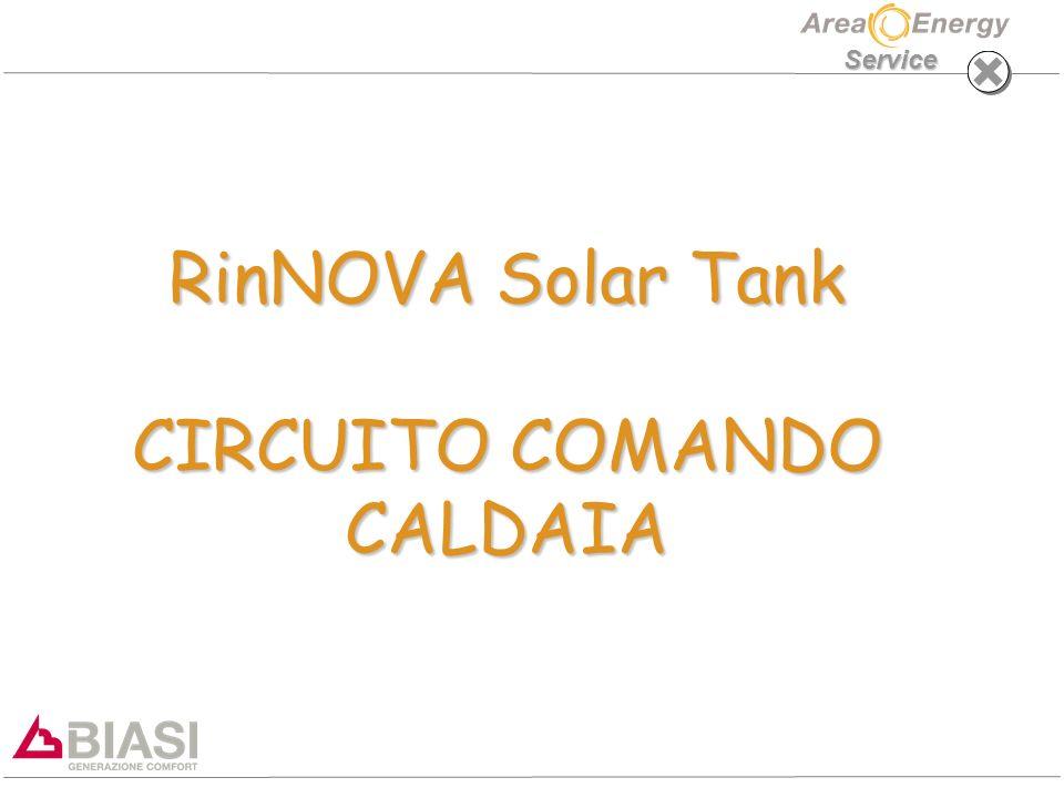 RinNOVA Solar Tank CIRCUITO COMANDO CALDAIA