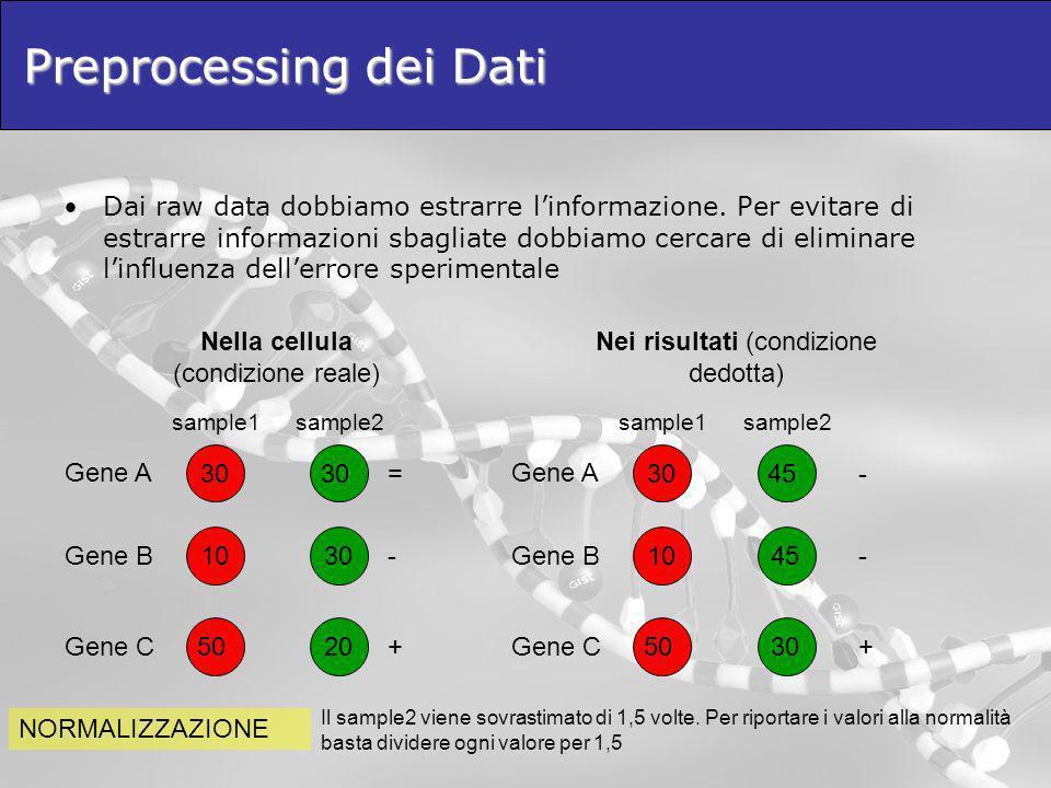 Preprocessing dei Dati