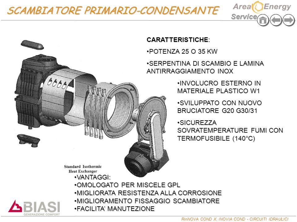 SCAMBIATORE PRIMARIO-CONDENSANTE