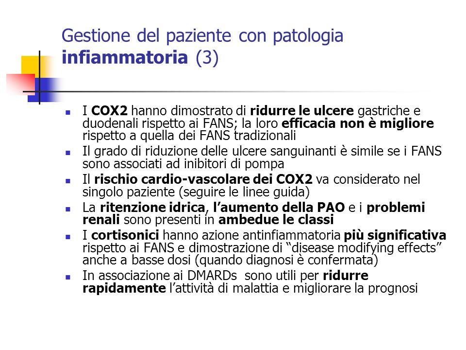 Gestione del paziente con patologia infiammatoria (3)
