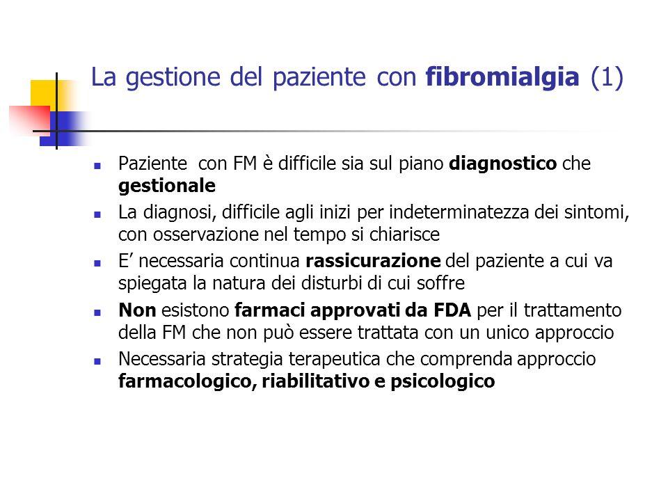 La gestione del paziente con fibromialgia (1)