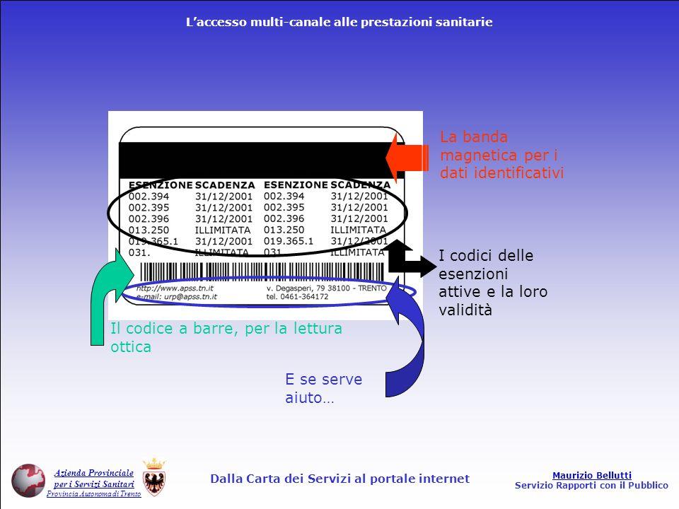 Dalla Carta dei Servizi al portale internet
