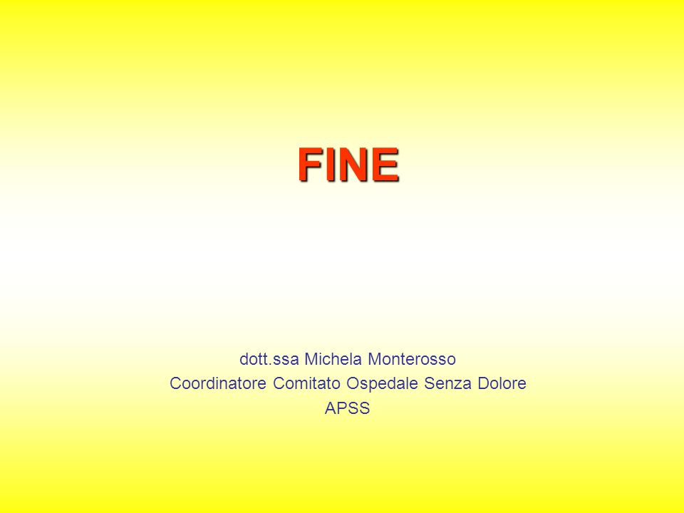 FINE dott.ssa Michela Monterosso