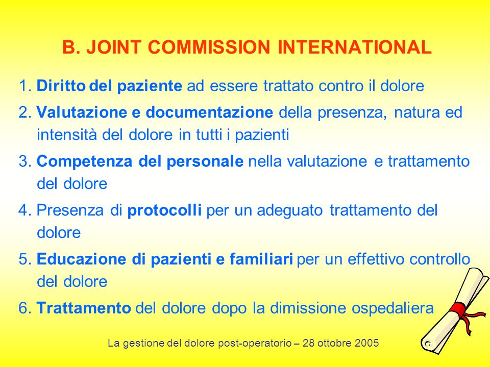 B. JOINT COMMISSION INTERNATIONAL