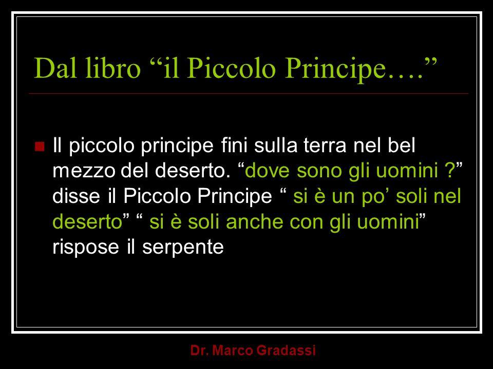 Dal libro il Piccolo Principe….