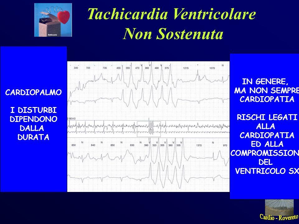 Tachicardia sinusale IN GENERE LEGATA A CAUSE NON CARDIACHE (Febbre