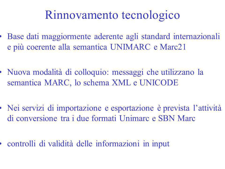 Rinnovamento tecnologico