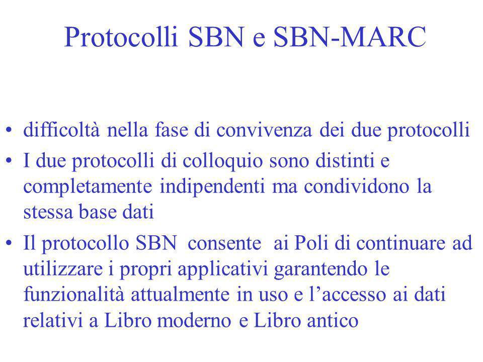 Protocolli SBN e SBN-MARC