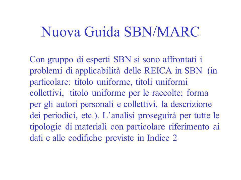 Nuova Guida SBN/MARC