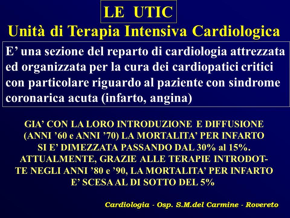Unità di Terapia Intensiva Cardiologica