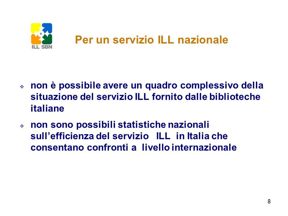 Per un servizio ILL nazionale