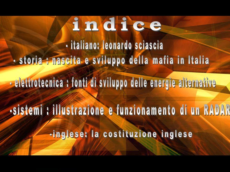 - storia : nascita e sviluppo della mafia in Italia