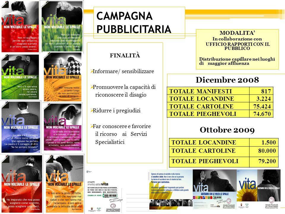 CAMPAGNA PUBBLICITARIA