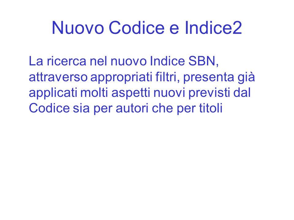 Nuovo Codice e Indice2