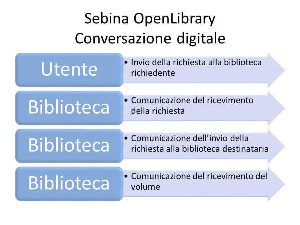 Sebina OpenLibrary Conversazione digitale