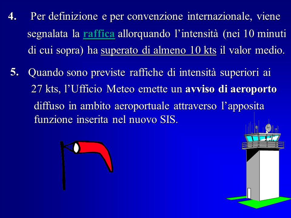 Per definizione e per convenzione internazionale, viene