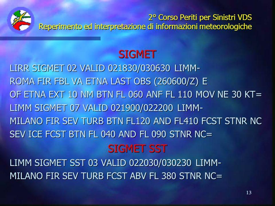 SIGMET SIGMET SST LIRR SIGMET 02 VALID 021830/030630 LIMM-