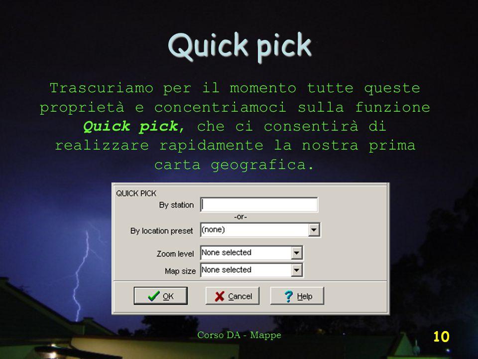 Quick pick