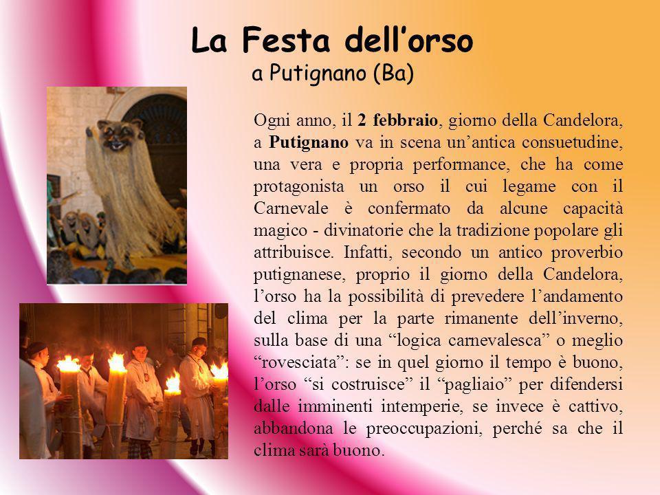 La Festa dell'orso a Putignano (Ba)
