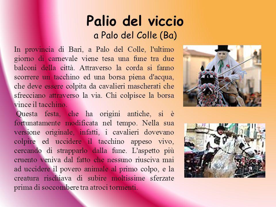 Palio del viccio a Palo del Colle (Ba)