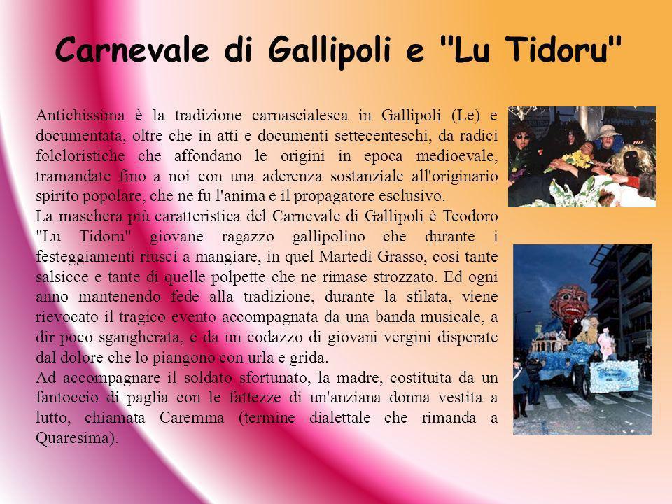 Carnevale di Gallipoli e Lu Tidoru